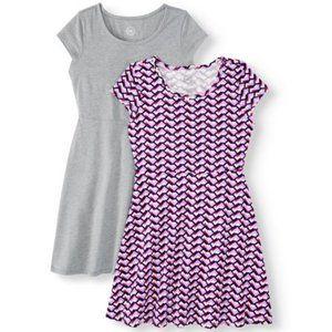 Girls Summer Dress, size XXL 18 (Zig Zag Pattern)